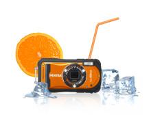 Pentax vattentäta Optio W90 kommer även i orange