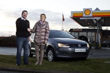 Shell-kunde tankede sig til ny VW Polo