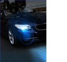 """BlueVision ultra- Philips senaste """"blå"""" tillskott bland billampor förbättrar din stil"""