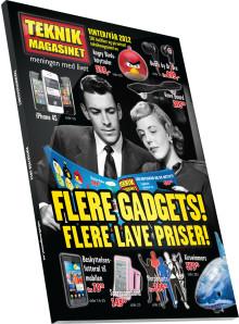 Seksten sider med mer gadgets i Teknikmagasinets nyeste katalog!