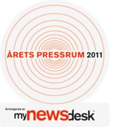 Vinnarna i Årets Pressrum 2011