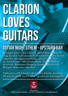 Guitar Night STHLM 30 maj