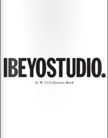 IBEYOSTUDIO A/W 12 Collection Book