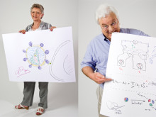 Sketches of Science: Photo sessions with Nobel Laureates