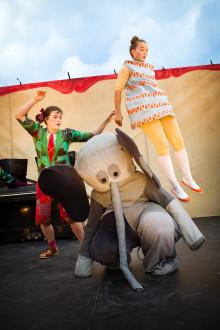 Halsbrytande cirkusvarité för hela familjen i Lunds stadspark