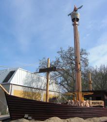 Säsongsöppning och invigning av Piratfallet