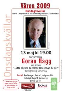 Onsdagskväll med Göran Hägg