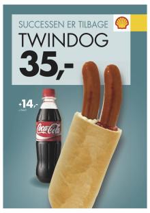 Twindog vender tilbage hos Shell