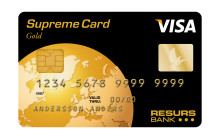 Sommarens stora nyhet från Resurs Bank. Betala dina RÄKNINGAR med Supreme Card och tjäna bonuspoäng