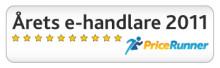Årets e-handlare på Pricerunner