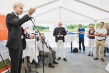 Milstolpe för vindkraft när E.ON invigde ny park i halländska Knäred
