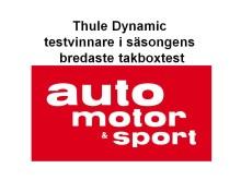 Thule vinnare i säsongens bredaste takboxtest - Thule Dynamic 800 och Thule Ranger 500 i topp