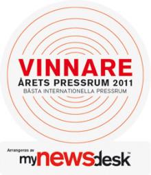 Saint-Gobain Abrasives vinder af Årets Presserum 2011