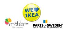 Satsning på personliga IKEA-möbler med Parts of Sweden