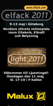 Elfack 2011 - Följ Malux nyheter live på plats!