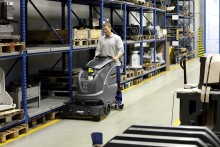 Innovasjonspris til Kärchers nye gulvvaskemaskin B 80 W