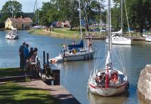 Göta kanalbolag klimatkompenserar alla båtar på kanalen - miljöår på Göta kanal