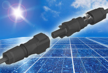 Snabbkopplade kontakter för installation av solceller