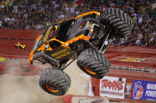 Monster Jam World Finals i Vegas avgjort