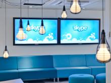 Skype inreder lekfullt i sitt nya stockholmskontor