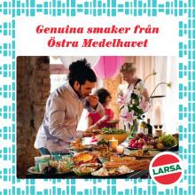 Husam Meizar grundare av Larsa Foods ger oss sin barndomsmat
