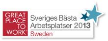 Sveriges Bästa Arbetsplatser 2013