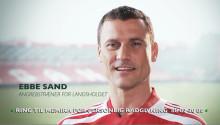Ebbe Sand medvirker i Memiras nye tv-reklame