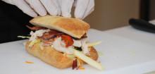 Premiere på frisksmurte sandwich hos Statoil