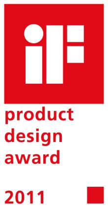 Thules innovativa takräcke Thule Slidebar har tilldelats det prestigefyllda iF Product Design Award 2011