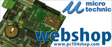 Din nye shop til PC/104 boards og telemetri dataloggere døgnet rundt