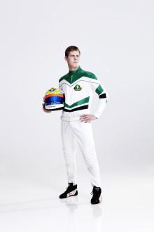 Ung racingtalang blir första sponsorskapet för Bredbandsbolaget