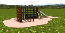 Nya produkter för lekplatser hos Woodwork AB