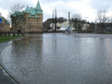 Uddevalla varnar via SMS vid risk för översvämning