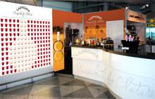 Pernod Ricard Finlandin makumatkoja lentoasemilla