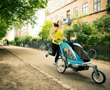 Chariot Debuts their new Urban Series at Summer Outdoor Retailer with its First Carrier for Active, Urban Parents – The Chinook