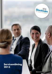 Servicemätning 2013 - en undersökning av kommunernas myndighetsutövning i Stockholmsregionen