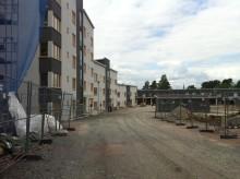 Låg andel nya hyresrätter i Uppsala