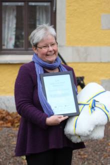 Hajstorps Slusscafé och Vandrarhem utsett till årets Längs Göta kanalföretag 2013