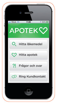 Apotek Hjärtat flyttar in i mobilen