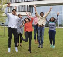 Indiens ambassadör inviger projekt där både studenter och företag är vinnare