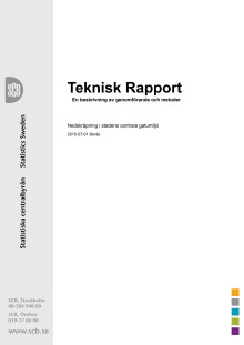 Teknisk rapport Borås 2015