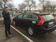 Pilottest med bilpool på Sveriges största flygplatser