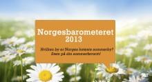 Reiseguidens Norgesbarometer er i gang – Hvilken by blir Norges beste sommerby 2013?