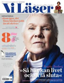 """Vi Läser nr 4 2014: Birgitta Stenberg: """"Så här kan livet också få sluta"""""""