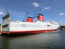 Trafikstart för Stena Alegra på Karlskrona-Gdynia