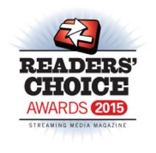 ​Xstream is nominated for Best OTT Platform in the Streaming Media Readers Choice Award 2015