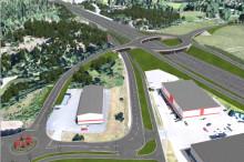 Skanska bygger trafikplatser på väg 73, söder om Stockholm, för 300 miljoner kronor