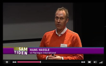 "Hans Hassle, CEO of Plantagon, speaks on ""Feeding the city"", in television seminar about Urban Agriculture"
