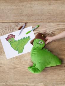 Barnen designar IKEAs nya kollektion av mjukdjur