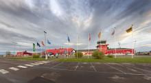 Test av förnybart fordonsbränsle, som minskar koldioxidutsläppen på Kiruna Airport i vinter